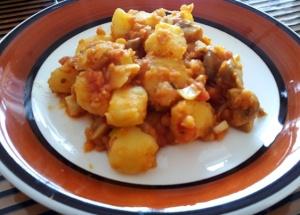 Currypotatis